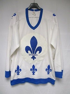 Maillot hockey QUEBEC vintage shirt jersey made in CANADA CCM collection M