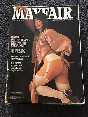 Mayfair Vintage men's magazine vol 8 No 9 FREE POST