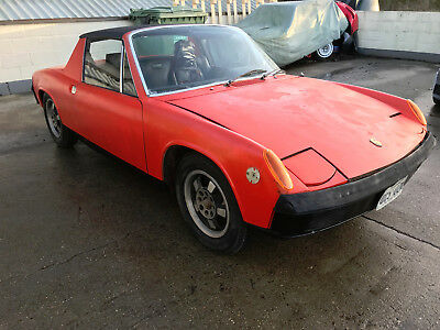 Porsche 914/4 1970 STARTS AND DRIVES lhd ideal project 5 speed dog leg gear box