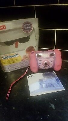 Fisher price Vtech Kid Tough Digital camera photos and movie maker great conditn