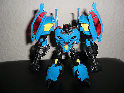 Transformers Prime Deluxe Class Rumble Frenzy Hasbro Figur