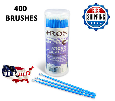 400 Micro Applicator Microapplicators Microbrush Dental - MEDIUM / BLUE EHROS