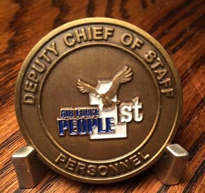 USAF Deputy Chief of Staff Personnel Challenge Coin t