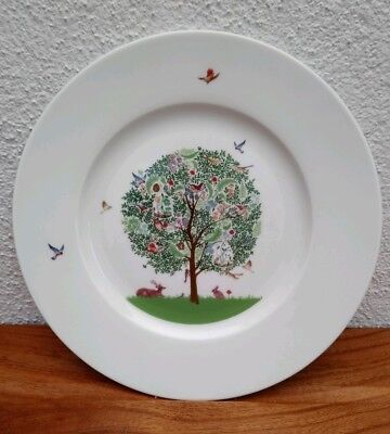 "Portmeirion ~ ENCHANTED TREE ~ 8"" Plate ~ Brand New ~ 2 Available"