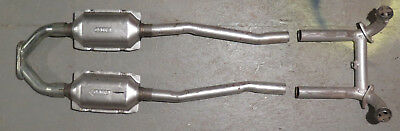 Alfa Romeo GTV6 & Milano performance duel exhaust system set up with converters
