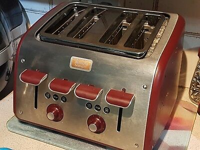 Tefal Maison 4 Slice in Race Car Red. THE Worst Toaster (pause) In The World