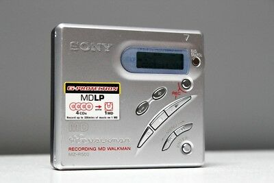 Sony miniDisc player MZ-R500 silver