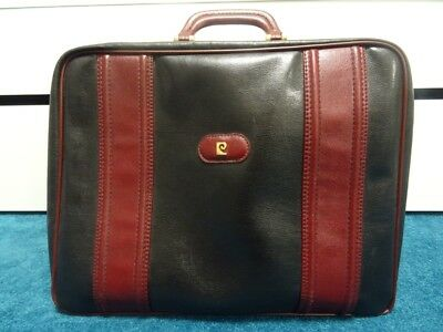 release date new high watch PIERRE CARDIN REISETASCHE, schwarz-bordeaux, Reisekoffer ...