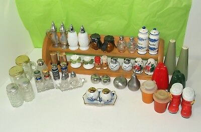 Vintage Salt and Pepper Shakers Collection Lot Of 47, 22 Sets