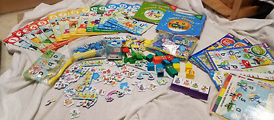 CBeebies Alphablocks Reading Programme Learning to Read Bundle and extras