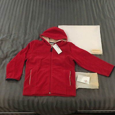 Porsche Design Children's Fleece Jacket From The Collection Of 2009/10. Nos Nib.