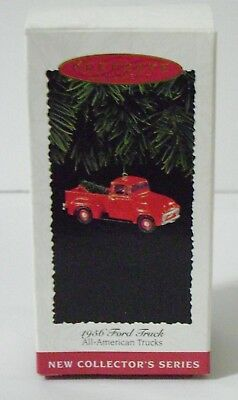 1995 HALLMARK Ornament, F-100 1956 Ford Truck, #1 in All American Trucks Series