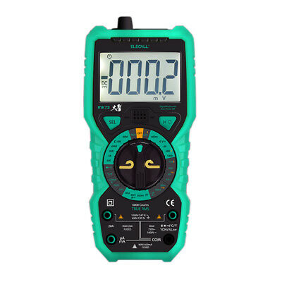 1X(Elecall MK72 High - Precision True RMS Digital Multimeter Handheld Multi Q1K6