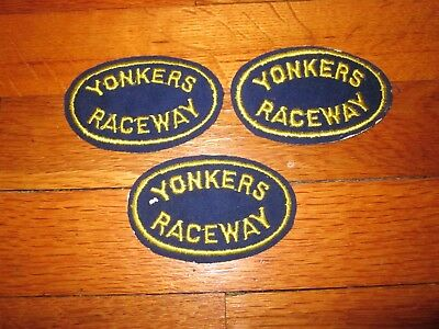 yonkers raceway new york horse patch lot
