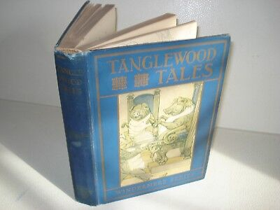 1913 TANGLEWOOD TALES Nathaniel Hawthorne ART Illustrated by Milo WInter MYTHS