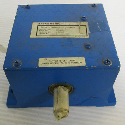 Magne Corp DFP76-1 Dancer Potentiometer Assembly