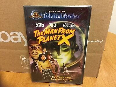 The Man From Planet X (DVD) Midnite Movies, Robert Clarke, Margaret Fielding NEW