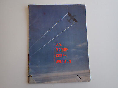 1944 US Marine Corps Aviation Booklet USMC Military - FOR CHARITY