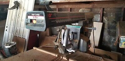 Craftsman Radial Arm Saw With Stand.