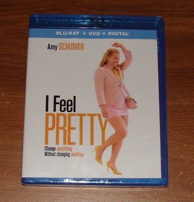 I Feel Pretty (Blu-ray + DVD + Digital) BRAND NEW & FACTORY SEALED