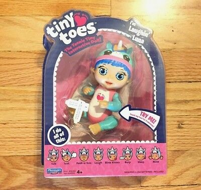 "Tiny Toes ""Laughin Luna"" The Teenie Tiny Interactive Doll - NEW IN BOX!"