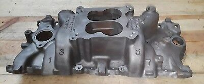 NEW CAST IRON Marine Intake Manifold Z28 4bbl nos racing gm performance  14096012