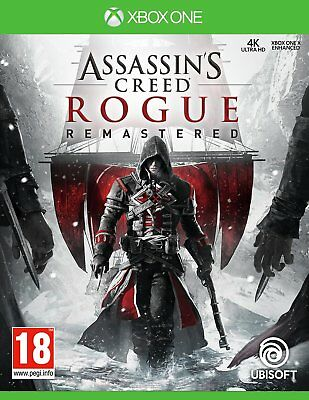 Assassin's Creed Rogue HD Microsoft Xbox One Game 18+ Years