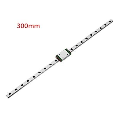300mm Length MGN7 Linear Rail Guide With MGN7H Linear Rail Block CNC Tool Fit Fo