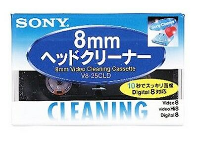V8-25CLD Official SONY head cleaning cassette (for Hi8 / digital 8/8 mm video)