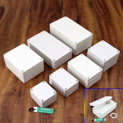 New IP65 ABS Plastic Electronic Housing Box Connection Box 7 Size of the Choice
