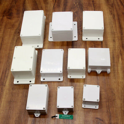 IP67 Waterproof Electronic Project Enclosure Plastic Case Screw Junction Box New