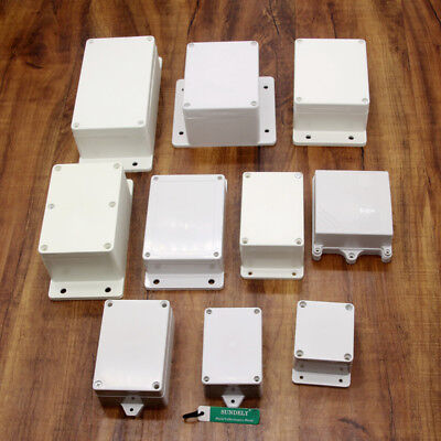 Pro Waterproof ABS Electronic Project Enclosure Plastic Case Screw Junction Box