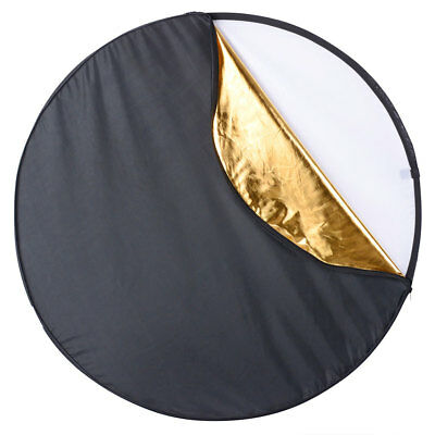 """43"""" 5 in 1 Collapsible Light Reflector Panel Diffuser Photo Studio Portable"""
