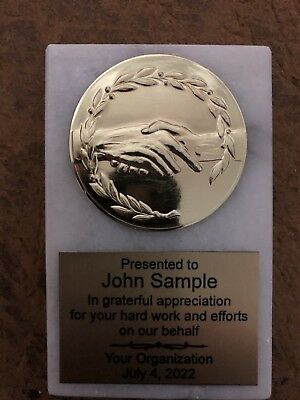 Marble Award Paperweight