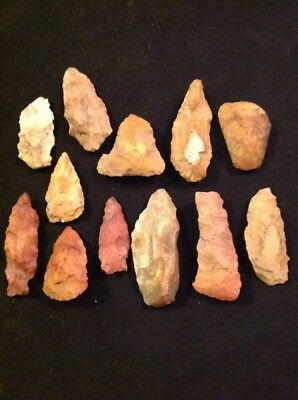 Neolithic Caveman-paleo Blade-knife Tool  Ancient Artifact  Lot Paleolithic