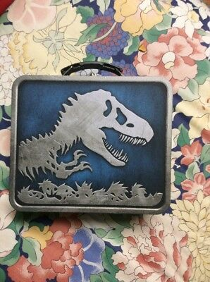 Jurassic Park Jurassic World Metal Lunch Box