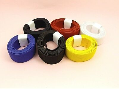 1M or 2M x 20mm WIDE Flat ELASTIC Stretch Ribbon BAND Sewing Woven Dress Waist