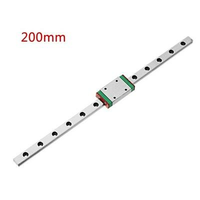 200mm Length MGN9 Linear Rail Guide with MGN9H Linear Rail Block CNC Tool