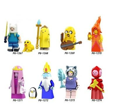 Adventure time Finn Banana guard Jack Flame princess Ooo mo Building Blocks toy