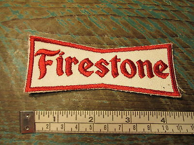 Vintage Style Firestone Rubber Company Racing Patch Tire Alms Scca F1 Can Am Gt