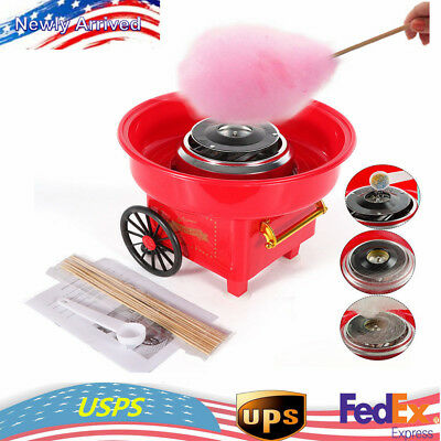 Commercial Cotton Sugar Floss Machine Electric Mini Cotton Candy Maker for Party