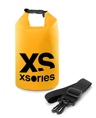 XSORIES STUFFLER 8L Waterproof Dry Storage Bag Boating Rafting - Yellow