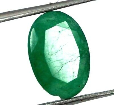 GGL Certified 2.20 Ct Natural Oval Cut Green Emerald Gemstone Hurry Now