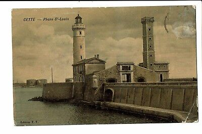 CPA-Carte postale- FRANCE - Sete (Cette)-Phare Saint Louis  S3762
