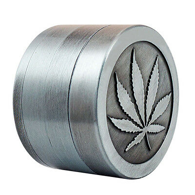 4 Layers Alloy Tobacco Crusher Hand Muller Leaf Smoke Herb Grinder Magic LK