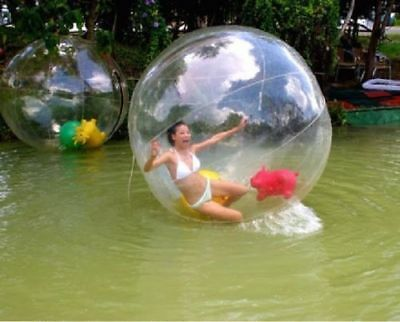 2M Zorb Inflatable Bubble Ball Water Walking Ball Human Hamster PVC Ball AUFAST