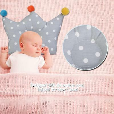 Comfortable Soft Cotton Newborn Infant Toddler Baby Pillow Preventing Flat Head