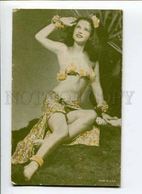 299365 MUTOSCOPE Pin-Up Girl ACTRESS Dancer HAWAII vintage