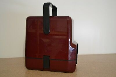 Decor Wine Cask Cooler Retro Burgundy 1970's