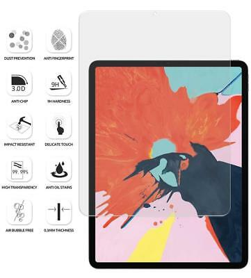 "For Apple iPad Pro 11"" 12.9"" 2018  ""Ultra thin"" Tempered Glass Screen Protector"